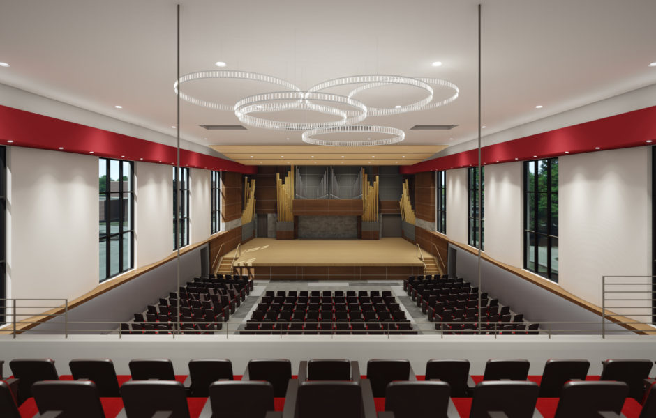 Douwstra Auditorium Renovation – Central College