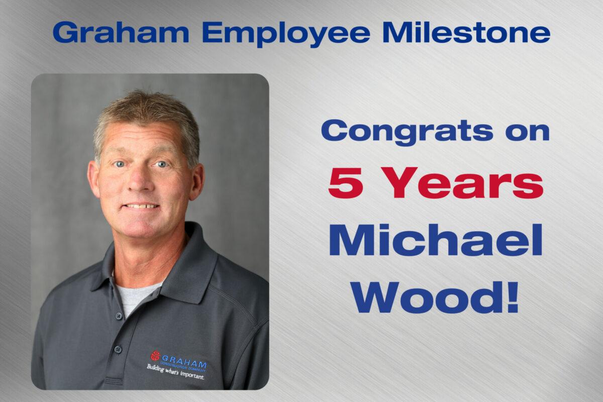 Michael Wood Employee Milestone