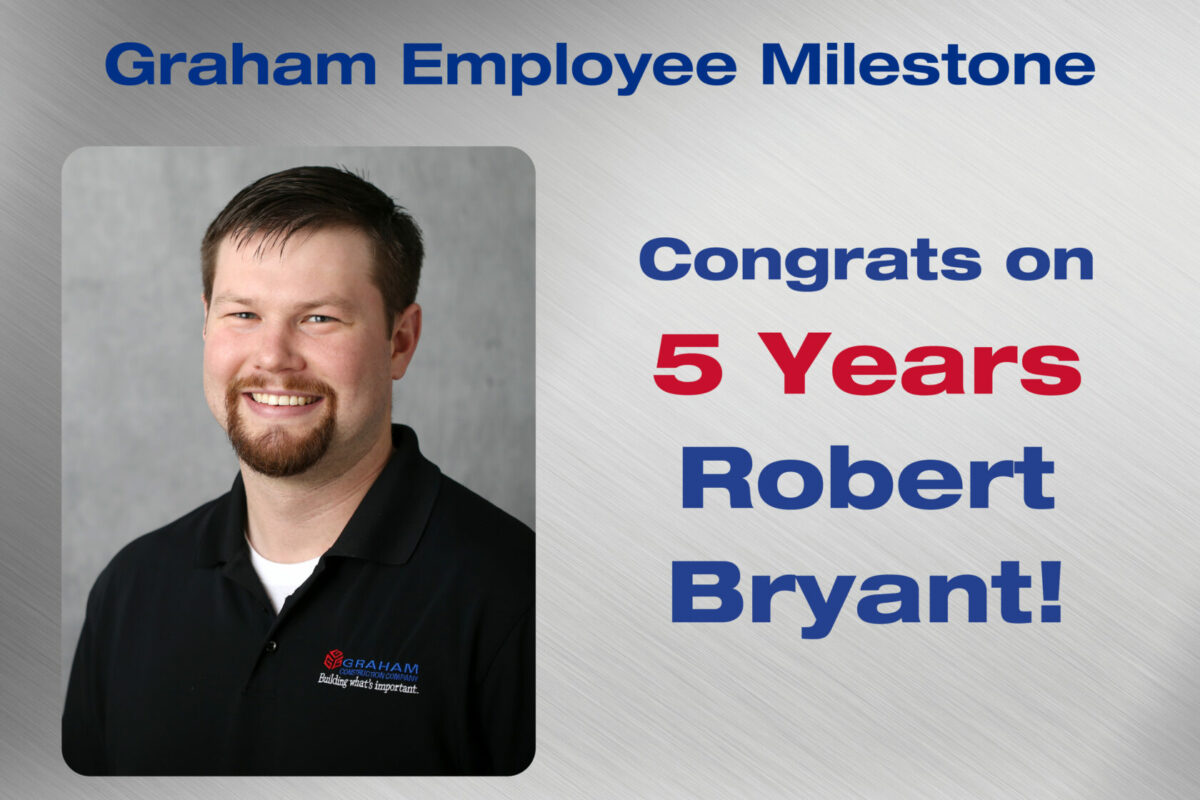 Robert Bryant Employee Milestone