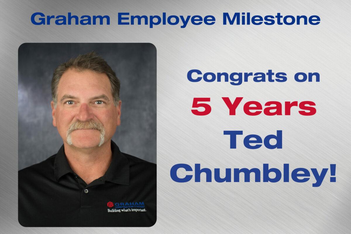 Ted Chumbley Employee Milestone