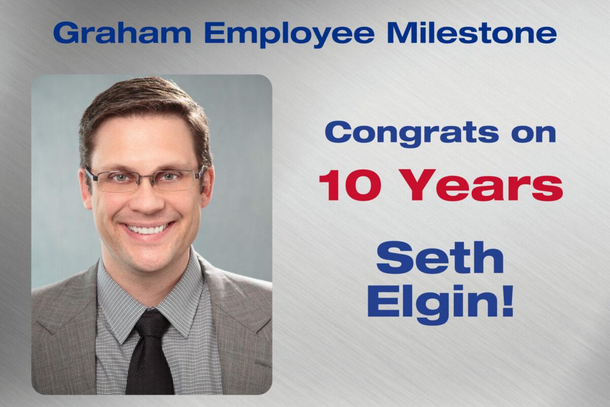 Seth Elgin - 10 Years